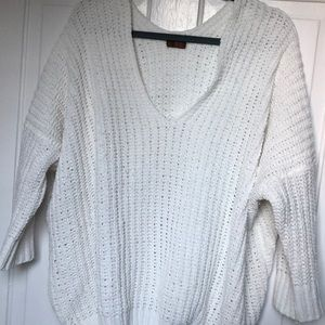 Sweaters - Super soft White Oversized Sweater